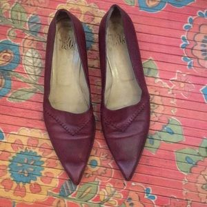 Made in Italy leather flats!